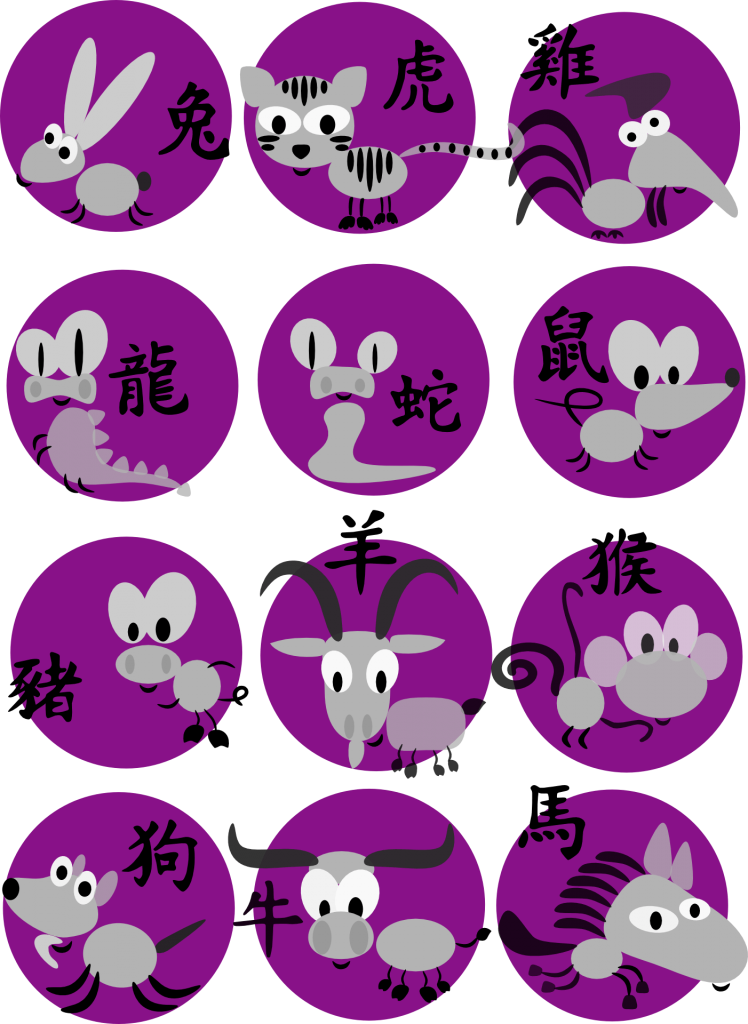 Zodiac Animals In Chinese