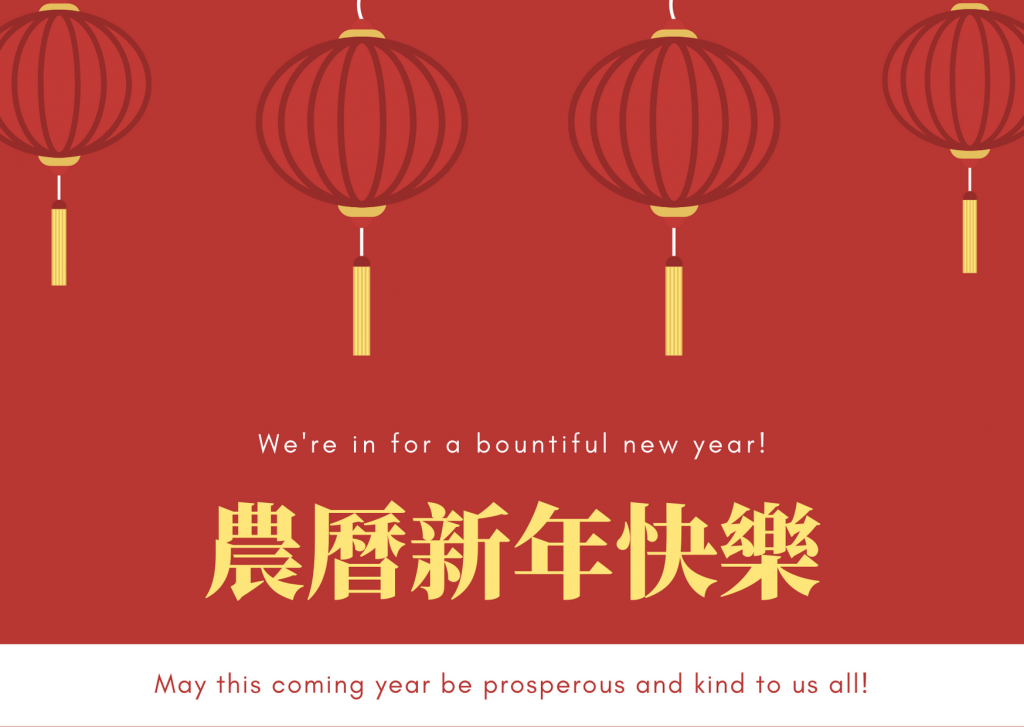 Chinese New Year 2020 Greeting Cards