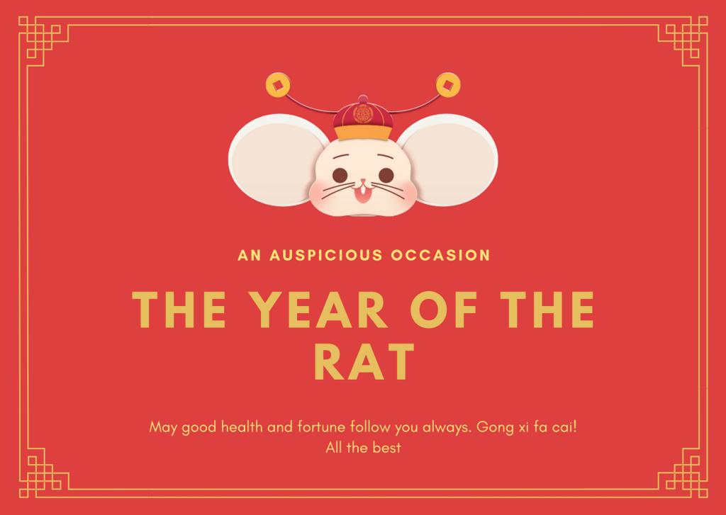 Rat Year 2020