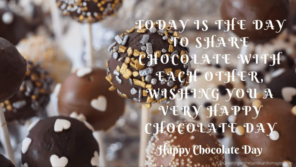 Happy Chocolate Day 2021 Pics
