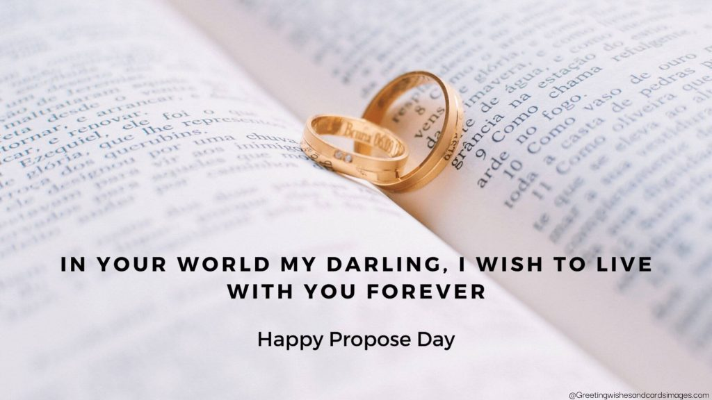 Happy Propose Day 2021 Wishes
