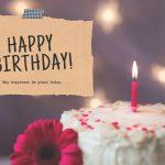 Poems For Birthdays