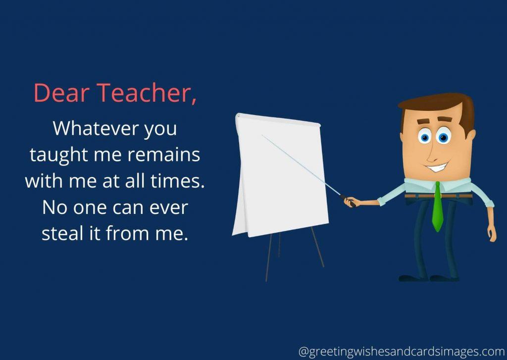 Advance Teachers Day Wishes