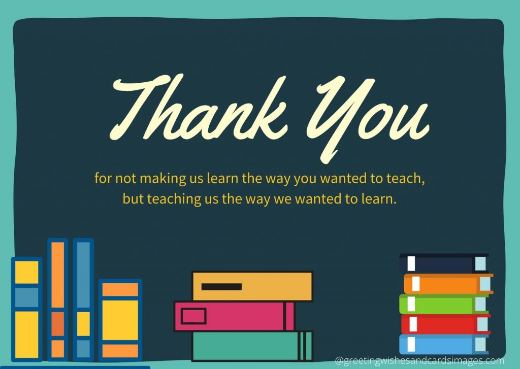 Teachers Day Wishing Cards