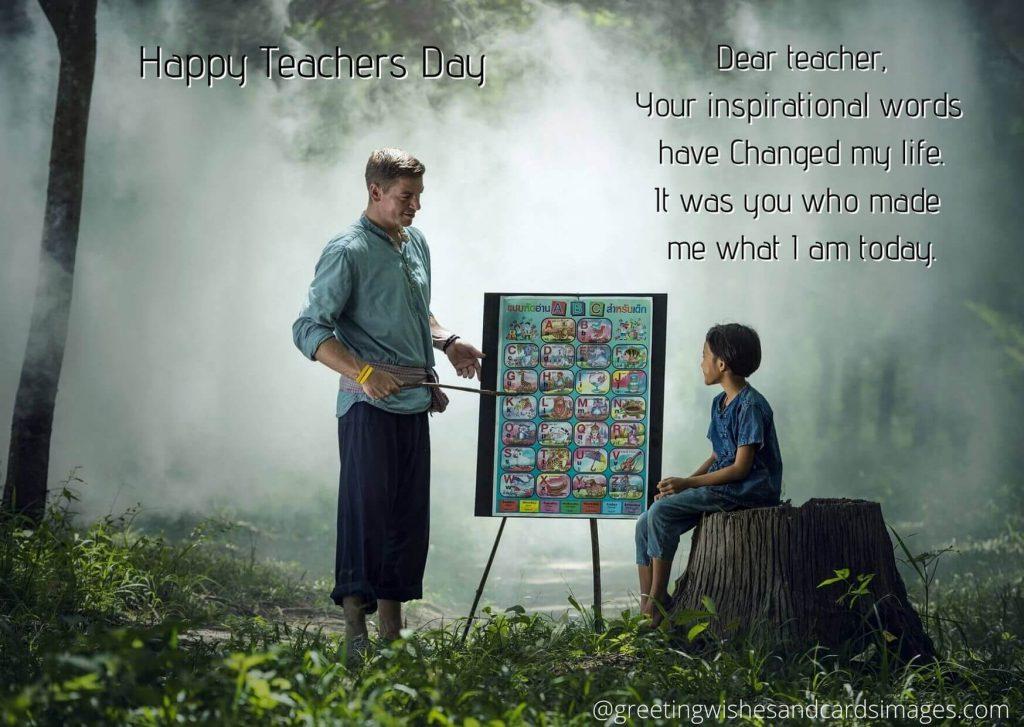 Advance Teachers Day 2020