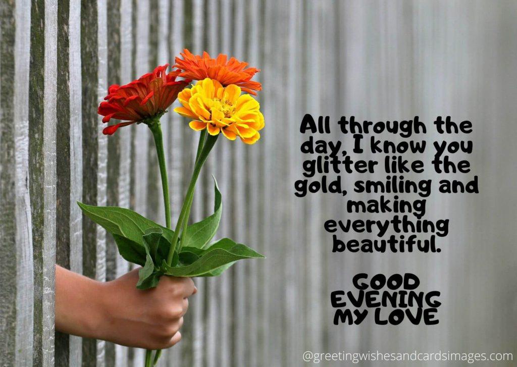 Girlfriend Good Evening Messages