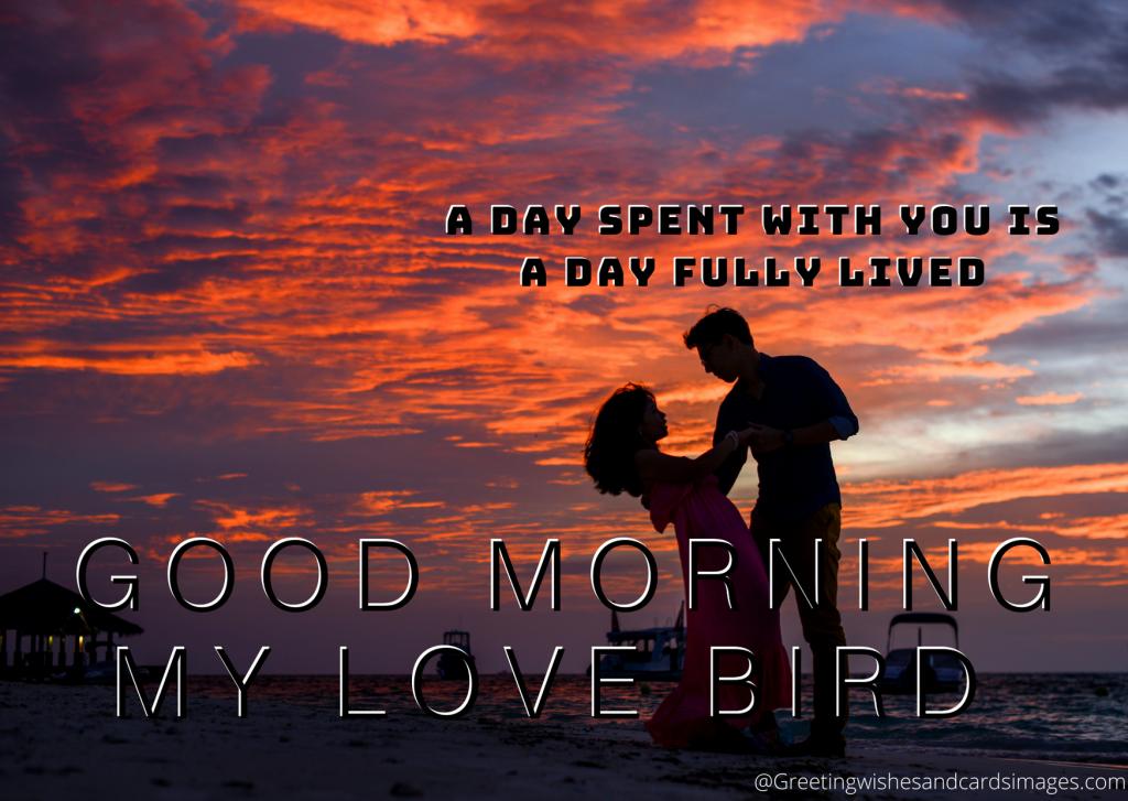 Good Morning My Love Sms