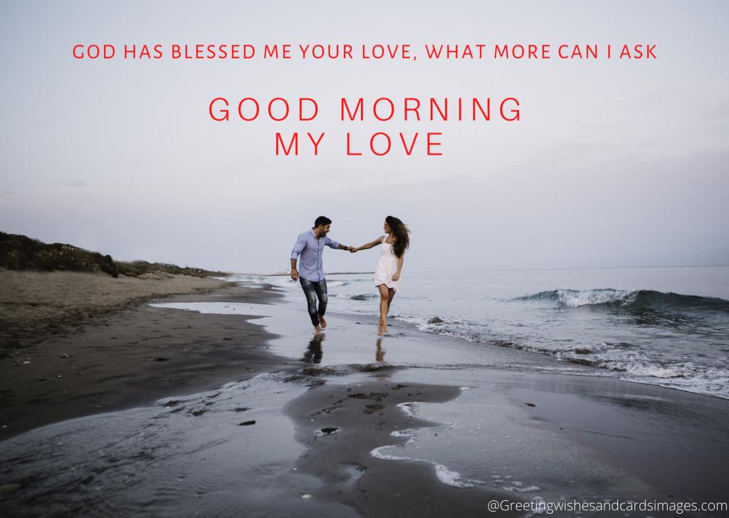 Good Morning My Love Status