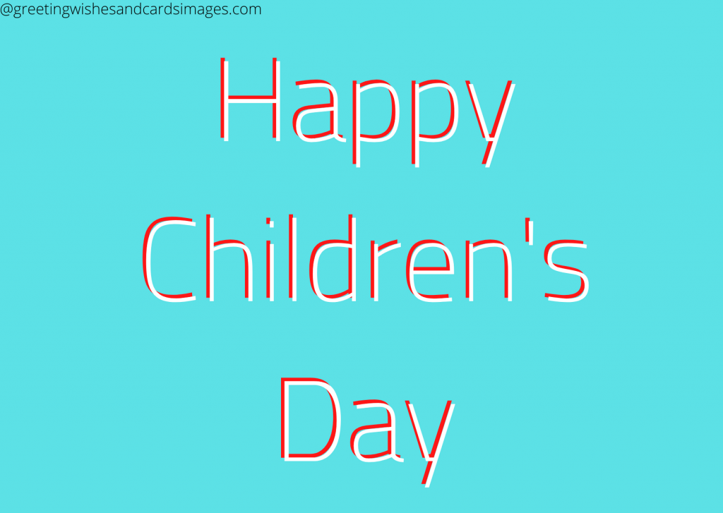 Childrens Day Images 2020