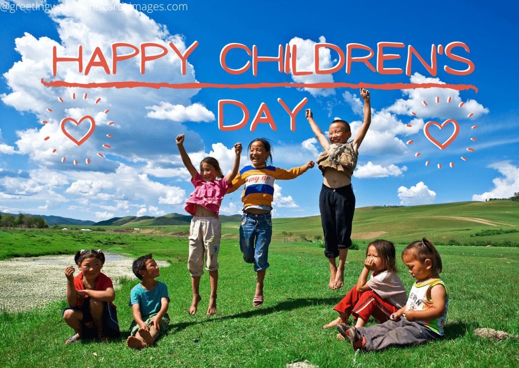Happy Children's Day Pics