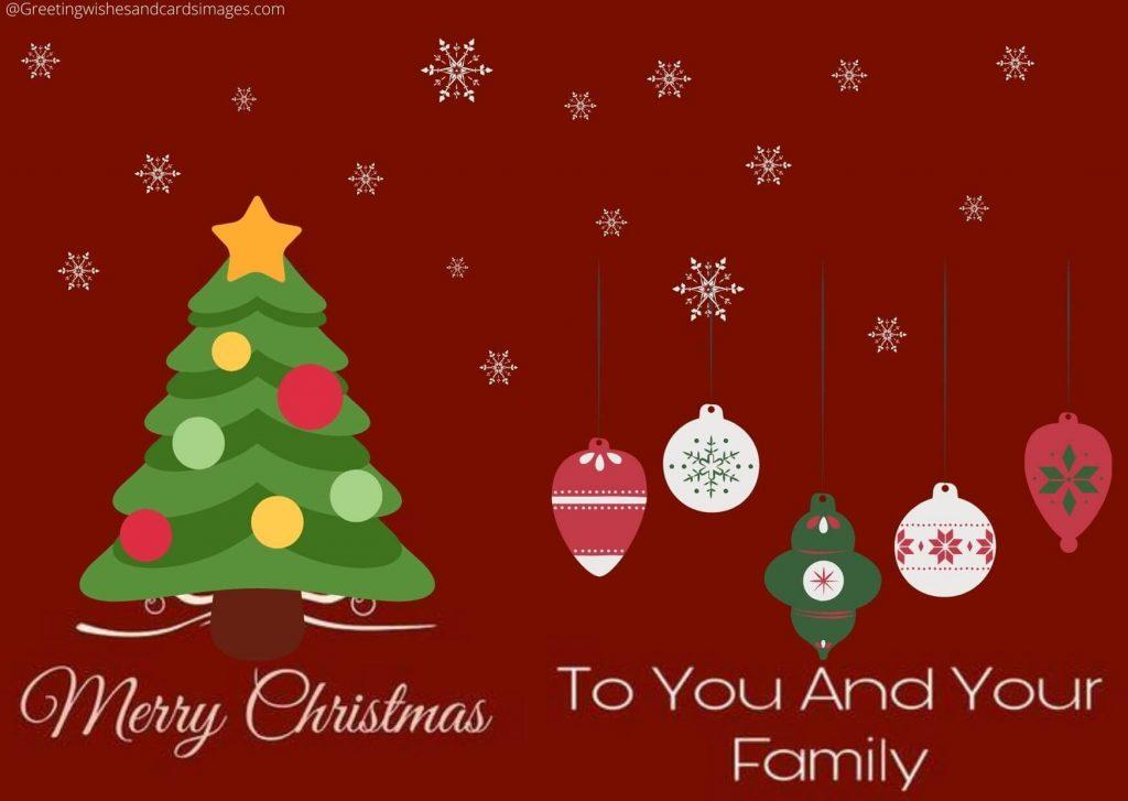 Merry Christmas Greetings 2020