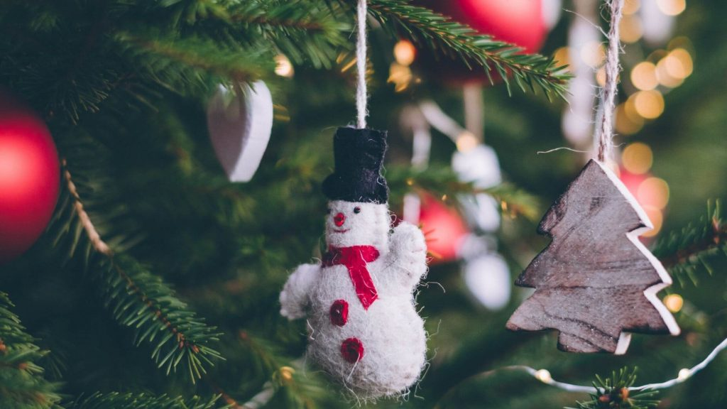 Easy Christmas Tree Decorations With Snowman