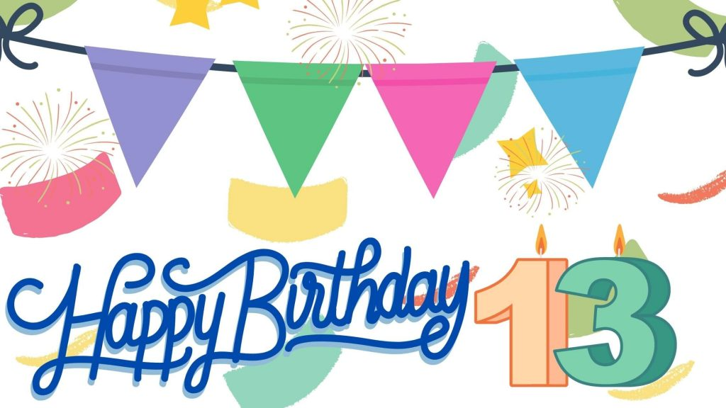 Happy 13th Birthday Boy Quotes