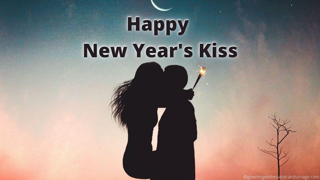 Happy New Year's Kiss