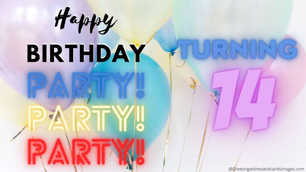 Best Happy 14th Birthday Boy Wishes
