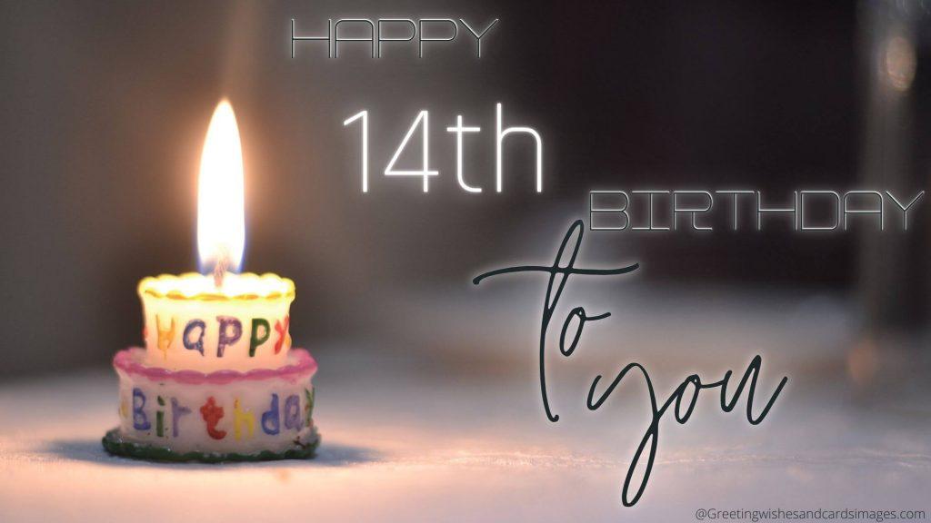 Happy Birthday 14th Boy Girl
