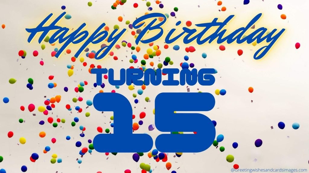15th Birthday Images