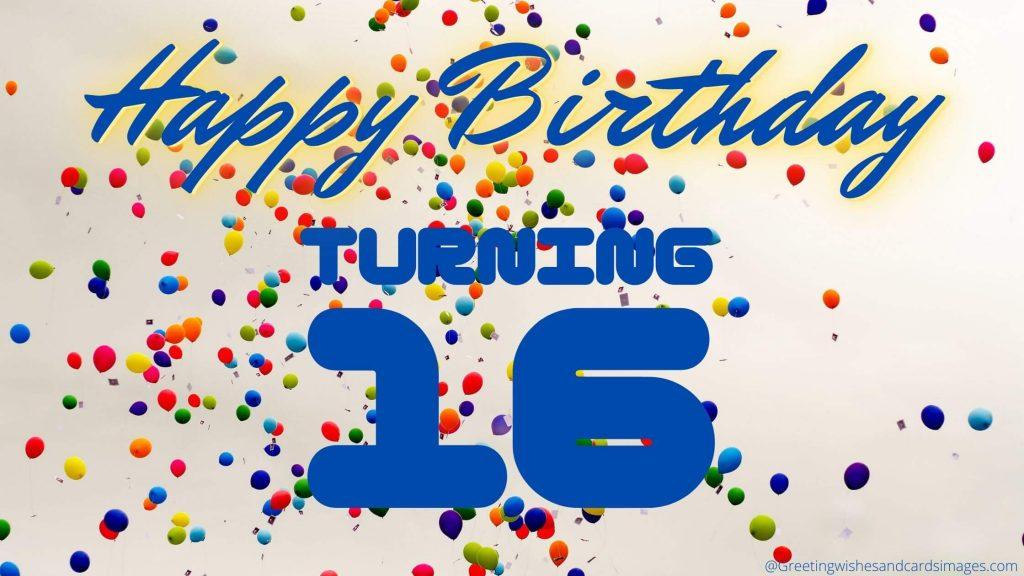 Happy 16th Birthday Son Wishes