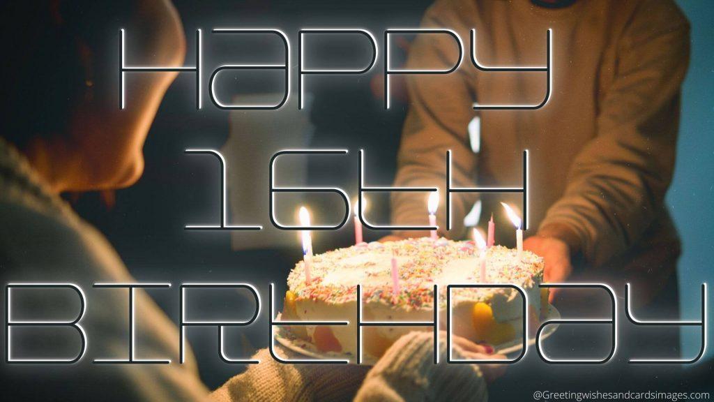 Happy 16th Birthday Bro Wishes