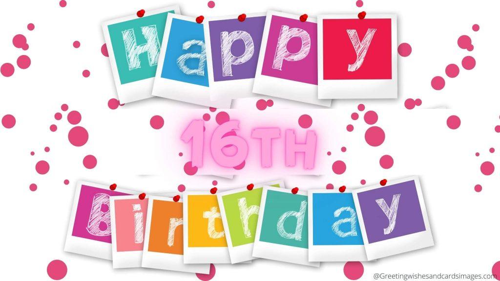 Happy 16th Birthday Grandparents Wishes