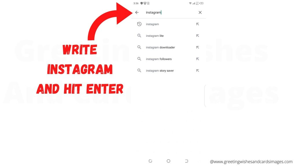 Installing Instagram On Mobile